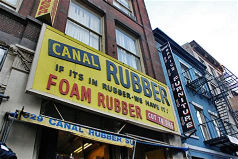 the rubber st shop canal shops and traders lower manahattan
