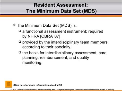 Mds Is A House by Module 1 Nursing Homes The Basics