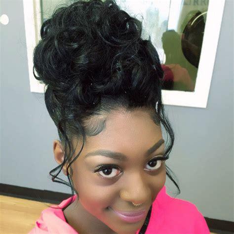prom hair my work black hair updo hairstyles kids