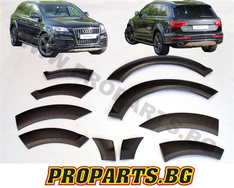 audi return policy audi q7 4l fender flares wheel arch trim extensions wide
