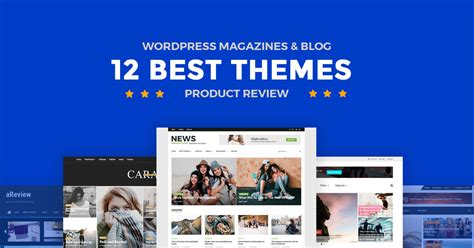 12 Best Products by 12 Best Product Review Magazine Themes And