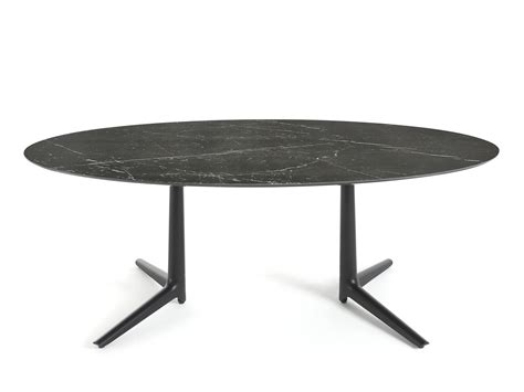 Buy The Kartell Multiplo Dining Table Oval At Nest Co Uk Kartell Dining Table