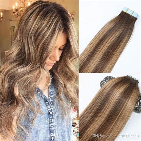 are tape extensions good for updos skin weft tape in human hair extensions pu tape hair set