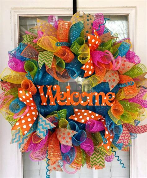 mesh wreath 1000 ideas about wreath on wreaths