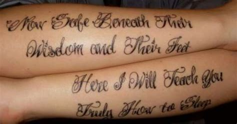 thrice tattoo i want a thrice tattoo preferably the chorus for quot open