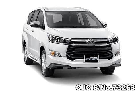 Toyota Innova 2019 by 2019 Toyota Innova Crysta White Pearl For Sale