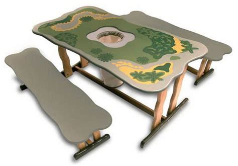 Dinosaur Table by Activity Tables For Kids Amusement Entertainment And