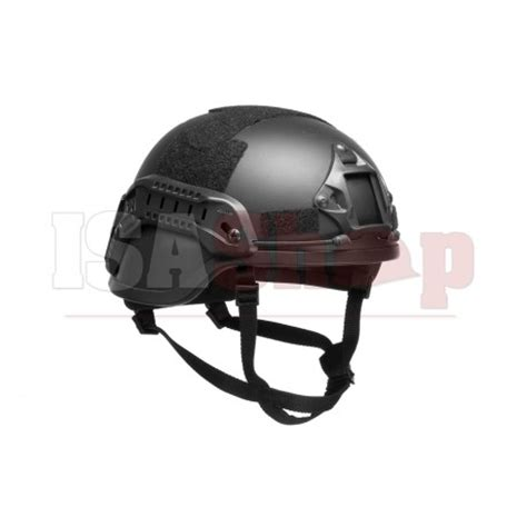 Yudistra Helm Tactical Mich 2000 Black Gosir ach mich 2000 helmet special black iron site airsoft shop