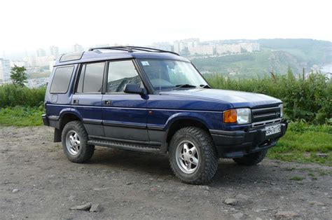 how to work on cars 1995 land rover discovery engine control 1995 land rover discovery information and photos momentcar