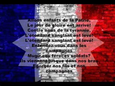 marsigliese testo la marsellaise la marsigliese inno nazionale francese