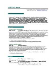 Cover Letter Special Education by Awesome Special Education Cover Letter Simple Sle Cover Letter