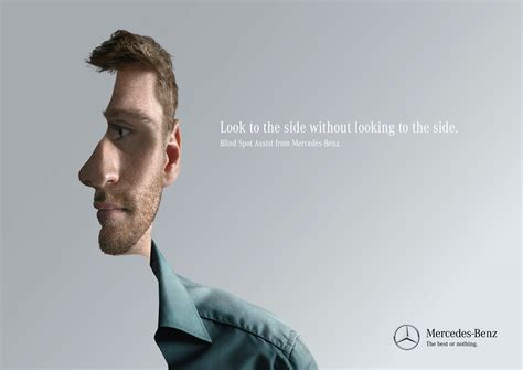 jung matt hamburg mercedes look to the side 3 ads of the world