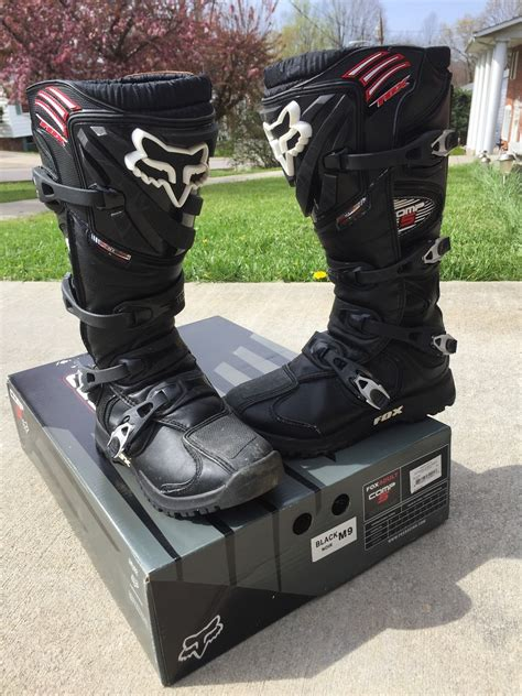 fox motocross boots for sale fox comp 5 boots size 9 for sale bazaar motocross