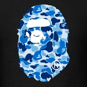Bape Abc Camo Shark Blue shop bape gifts spreadshirt