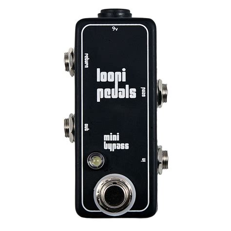 best guitar looper pedal effects loop bypass pedal guitar true bypass loopi