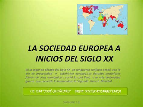 la sociedad del cansancio 8425428688 calam 233 o sociedad europea a inicios del siglo xx