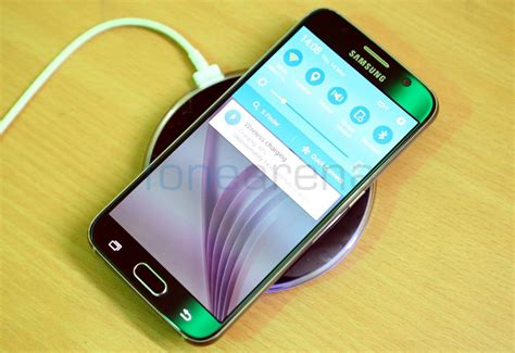 Wireless Charger For Samsung Galaxy S6 S6 Edge Origina Putih samsung galaxy s6 and s6 edge wireless charger unboxing