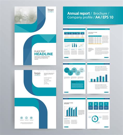 element layout template is not supported page layout for company profile annual report and