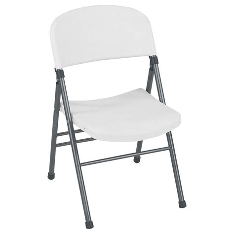 cosco white plastic seat metal frame outdoor safe folding chair set   wspe  home