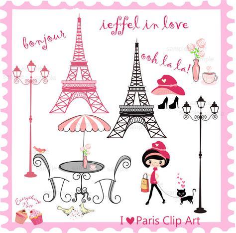 imagenes love paris i love paris clip art set