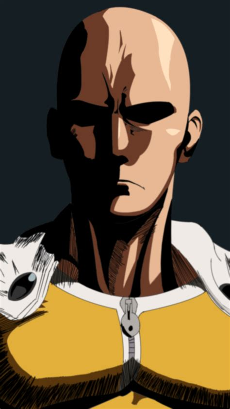 Wallpaper Iphone 6 One Punch Man | one punch man saitama 2 wallpaper for iphone x 8 7 6