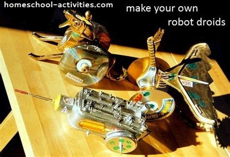 home robotics maker inspired projects for building your own robots books building robot droids recycled crafts for
