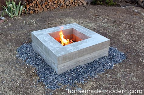 homemade wood burning fire pits plans bench with storage