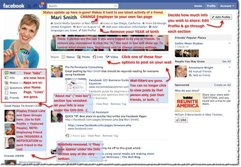 photo layout facebook quick guide to the new facebook profile layout image