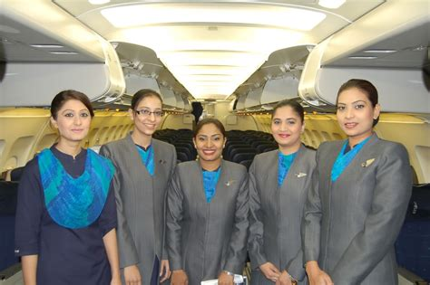Air Blue Cabin Crew by Air Hostess From Different Countries