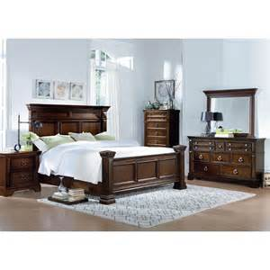 Cal King Bedroom Sets Charleston Tobacco Brown 6 Cal King Bedroom Set