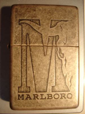 Zippo Marlboro Big M lighter antique price guide