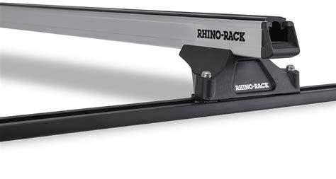 Rhino Rack Heavy Duty by Heavy Duty Rltp Trackmount Silver 2 Bar Roof Rack Rhino Rack