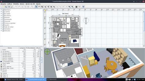 java 3d home design linux dicas e suporte sweet home 3d para debian arch