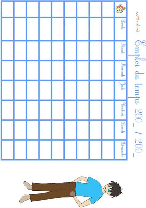 Imprimer L Emploi Du Temps Gar 231 On T 234 Te 224 Modeler