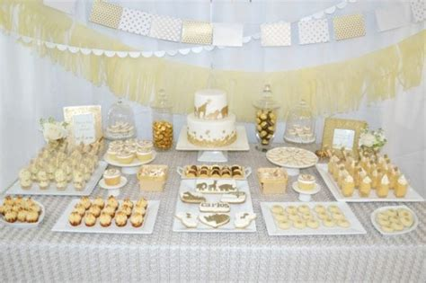 White And Gold Baby Shower Theme by A Golden Safari Themed Baby Shower Spaceships And Laser