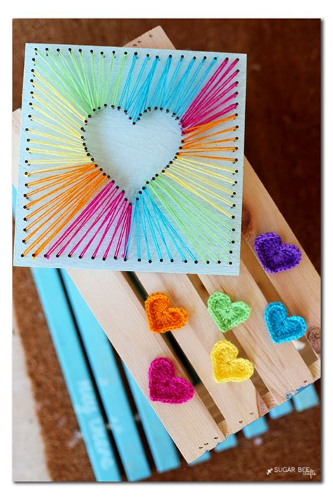 String Arts And Crafts - string sugar bee crafts