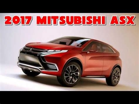 mitsubishi asx 2017 interior 2017 mitsubishi asx redesign interior and exterior