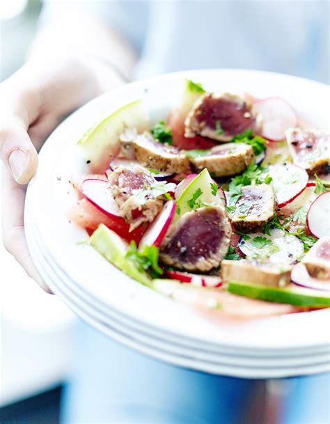 epicurien recettes de cuisine salade de past 232 que tataki de thon pour 6 personnes