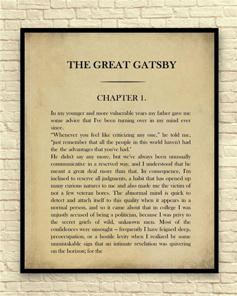 themes of the great gatsby chapter 1 20 collection of great gatsby wall art wall art ideas