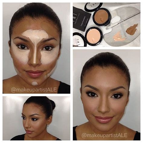 contouring tutorial instagram 1000 images about visagie shapen on pinterest cream