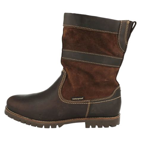 human nature mens pull on waterproof boots patric ebay
