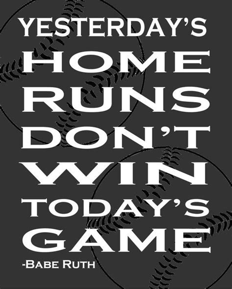 printable baseball quotes baseball quote printable digital file you have to keep