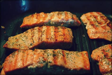 chagne and basil grilled salmon char griller grills and smokers