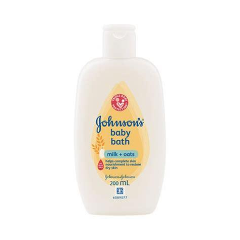 Johnsons Milk Bath johnson s 174 milk oats baby bath