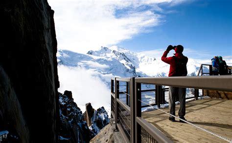 courmayeur ufficio turismo aiguille du midi il passo nel vuoto ufficio