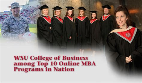Mba Programs In Washington by Washington State College Of Business
