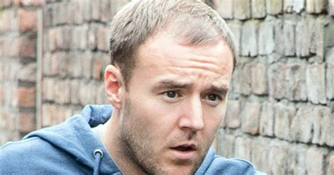 paddy mcguiness spray hair coronation street s alan halsall undergoes hair transplant