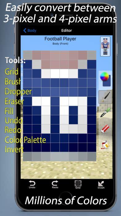 design app skin skin designer for minecraft appzoo dk