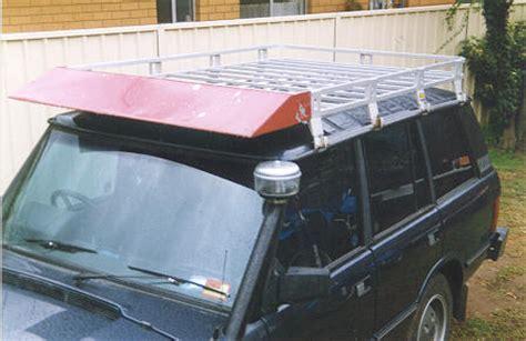 Range Rover P38 Roof Rack by P38 Oem Roof Rack Wind Deflector