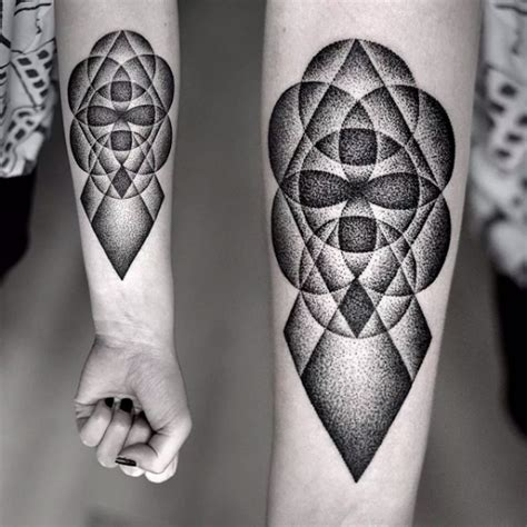 dotwork and geometric tattoo gallery perfect tattoo artists